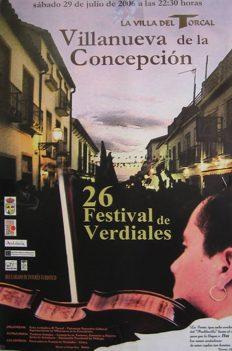 26 Festival de Verdiales de Villanueva de la Concepción