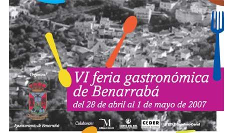 VI Feria Gastronómica de Benarrabá