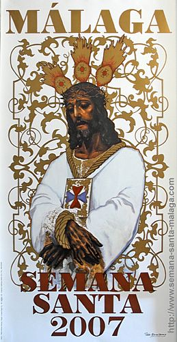 El Cautivo anunciará la Semana Santa de Málaga 2007