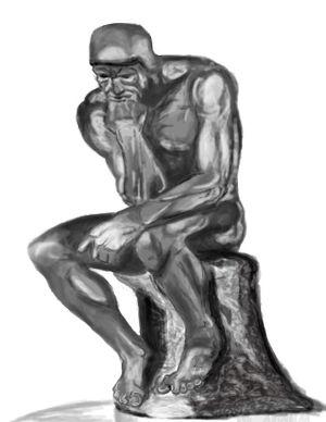 Esculturas de Rodin en Málaga